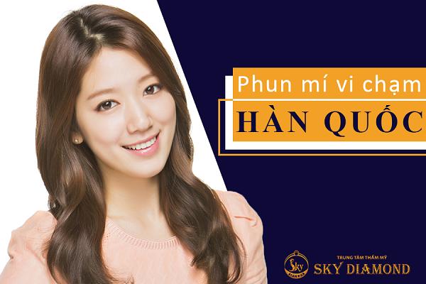 phun-mi-vi-cham-Han-quoc