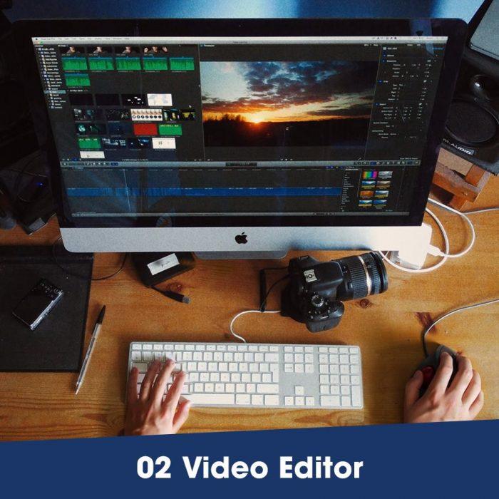 Tuyển dụng video editor ngành Thẫm mỹ 2018