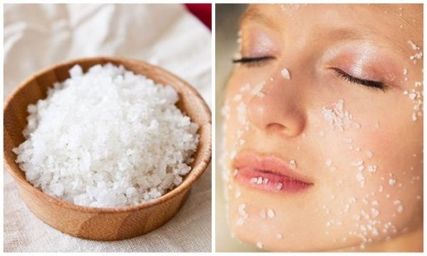 Trị mụn bằng muối an toàn, không rát da