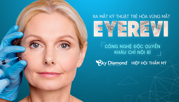 Sky Diamond & Hiệp hội thẩm mỹ ra mắt kỹ thuật trẻ hóa vùng mắt EyeRevi