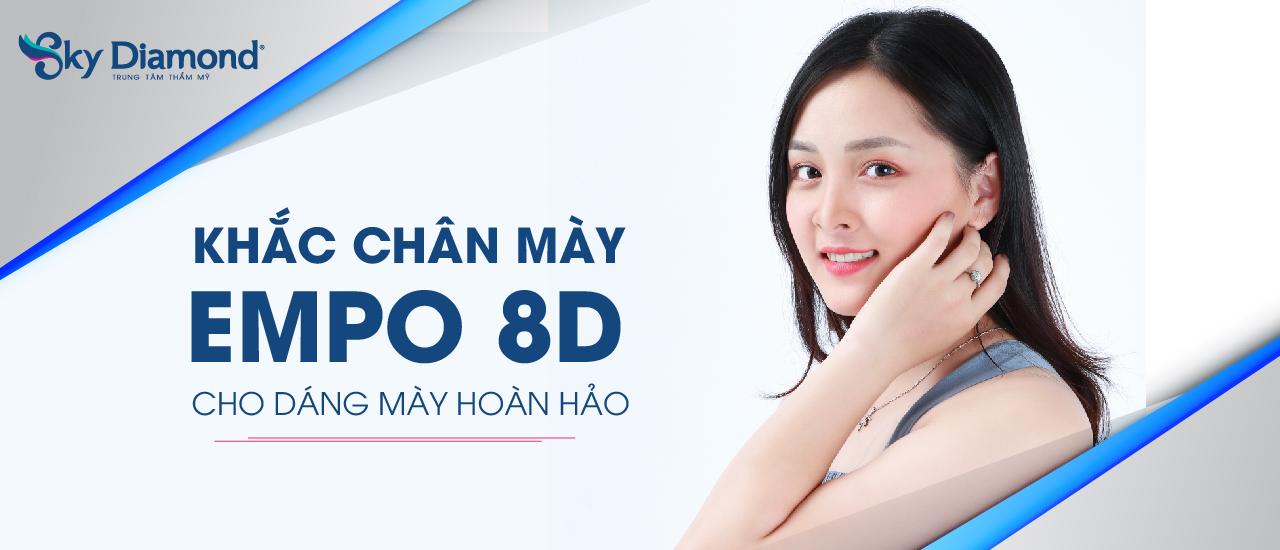 Khắc Chân Mày Empo 8D Banner Web