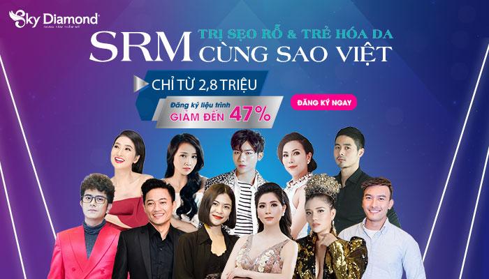 Cùng sao Việt đồng hành điều trị sẹo rỗ & trẻ hóa da - Trợ giá chi phí đến 47%