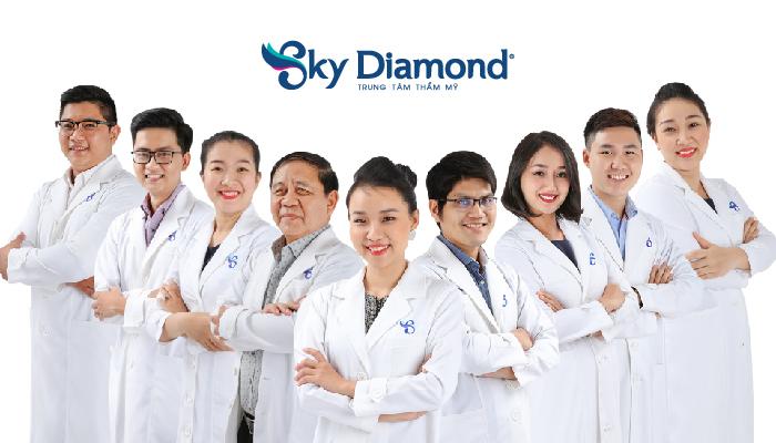 Đội ngũ bác sĩ hơn 15 năm trong nghề tại Sky Diamond