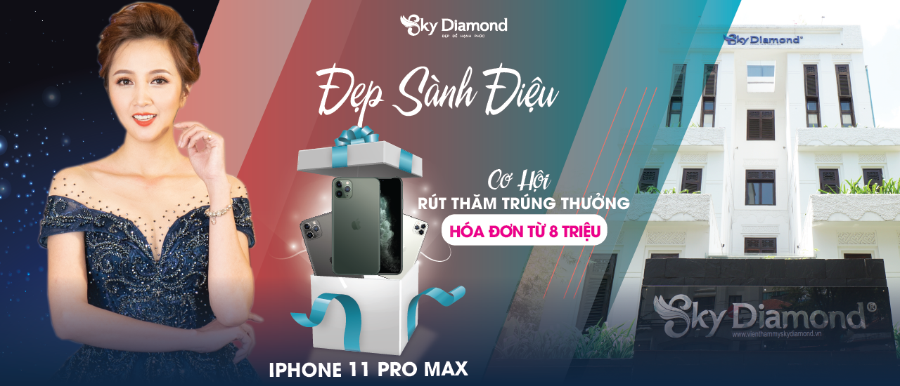 ĐẸP SÀNH ĐIỆU - TRÚNG NGAY IPHONE 11 PRO MAX